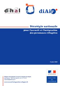 Stratégie nationale pour l'accueil et l'intégration des personnes réfugiées