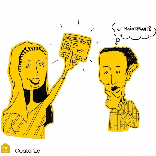 Journée mondiale des réfugiés avec le Samu Social de Paris