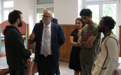 Visite de terrain à Strasbourg ce jeudi 30 août 2018