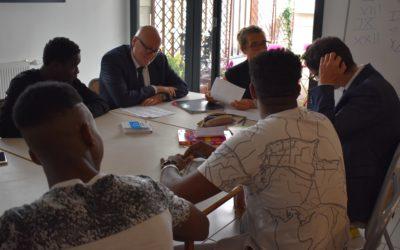 Poursuite des visites de terrain du Diair en Lot et Dordogne en faveur de la mobilisation des territoires pour l'accueil des réfugiés.