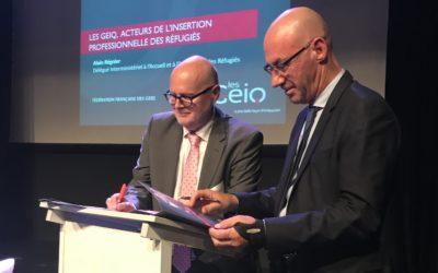 Signature de la convention Geiq – Diair dans le cadre du PIC aujourd'hui à Nantes