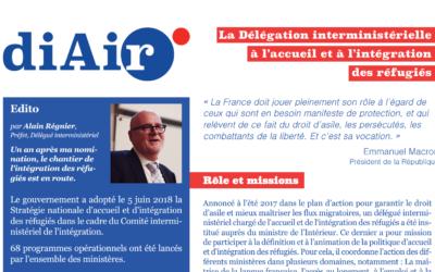 Nouvelle présentation de la DiAir et du dispositif Lab'R