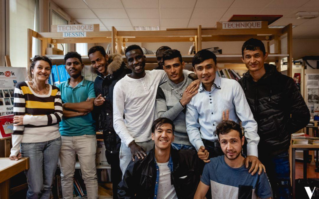 Un CAP « Breizh + » pour les jeunes réfugiés dans le bâtiment
