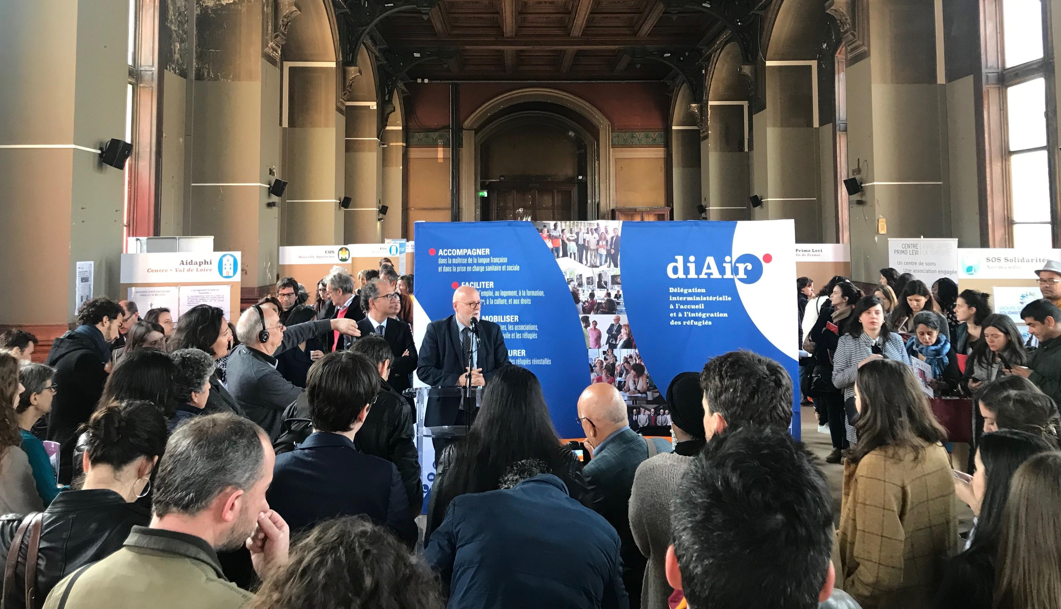 Discours d'Alain Régnier, délégué interministériel de l'accueil et de l'intégration des réfugiés