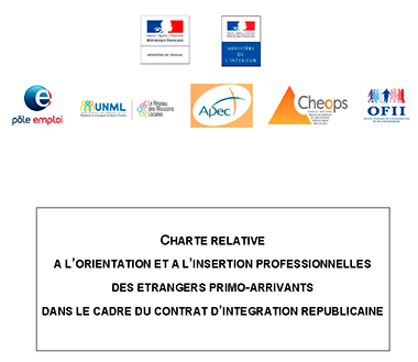 Signature d'une charte pour l'insertion professionnelle des étrangers primo-arrivants
