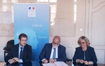 Signatures de contrats Etat / métropoles en faveur de l'intégration des réfugiés
