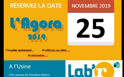 l'Agora 2019 : les premières infos !