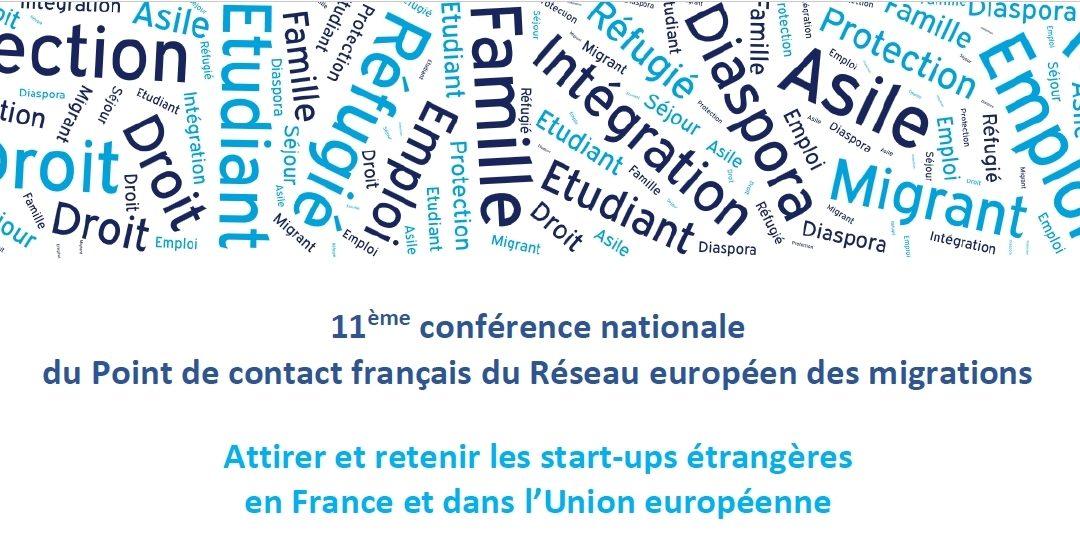 """11ème Conférence du """"REM"""" : Attirer et retenir les start-ups étrangères"""
