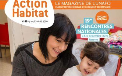 Interview d'Alain Régnier pour «Action habitat» le magazine de l'Unafo