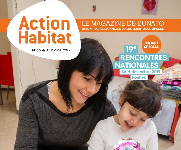 """Interview d'Alain Régnier pour """"Action habitat"""" le magazine de l'Unafo"""