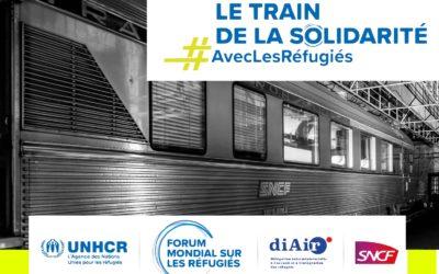 Le train de la solidarité #AvecLesRéfugiés est lancé !
