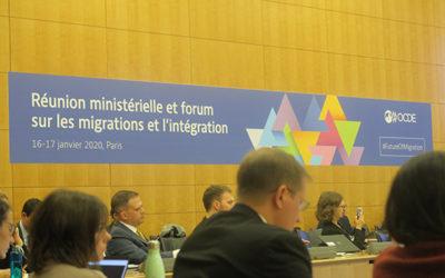 La Diair au premier forum de l'OCDE sur les migrations et l'intégration