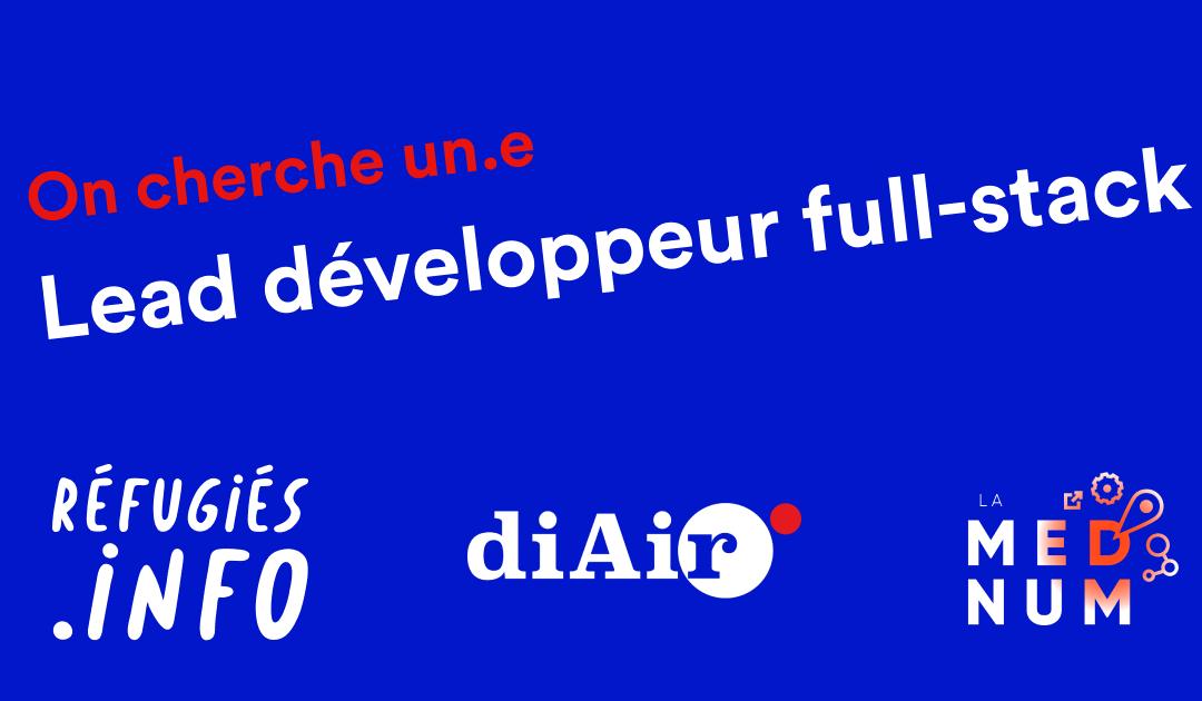 """Développeuse.r, vous voulez coder pour la bonne cause ? Rejoignez l'équipe """"Réfugiés.info""""…"""