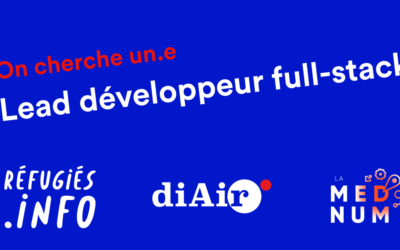 Développeuse.r, vous voulez coder pour la bonne cause ? Rejoignez l'équipe «Réfugiés.info»…