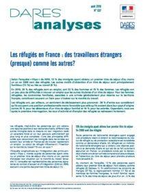 Les réfugiés en France : des travailleurs étrangers (presque) comme les autres ?