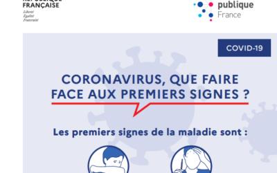 #COVID19 : les signes bénins