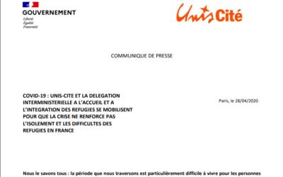 Communiqué de presse Unis-Cité – Diair