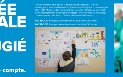 Journée mondiale du réfugié 2020 : un format virtuel inédit