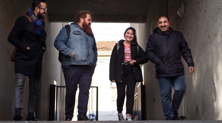 Être et devenir en France : réfugiés réinstallés