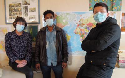 Rencontre avec Khaled et Hamid, en formation aux métiers du bâtiment