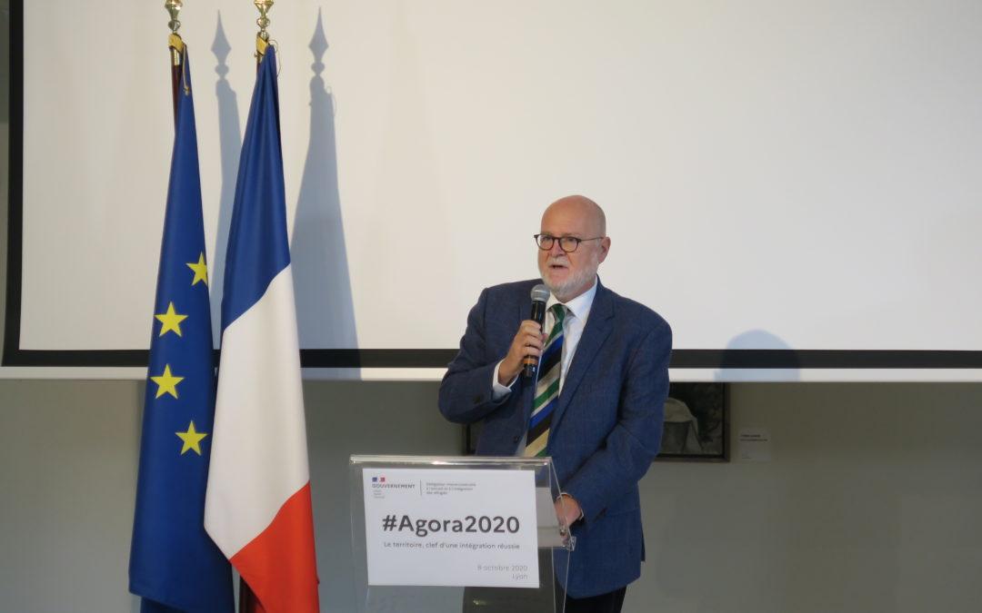 Agora 2020, la rencontre nationale annuelle des acteurs de l'accueil et de l'intégration des réfugiés