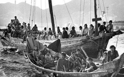 """Quand Valéry Giscard d'Estaing décide d'accueillir les """"Boat Pepole"""""""