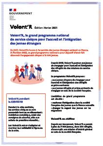 Plaquette de présentation du programme Volont'r