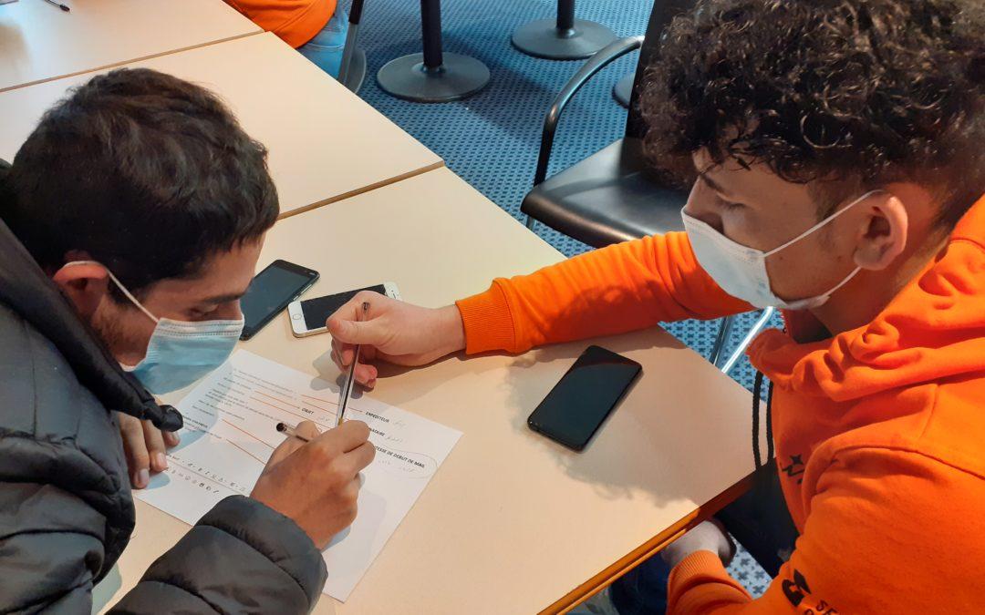 """Inclusion numérique #1 : """"les Connectés"""", projet porté par Unis-Cité"""